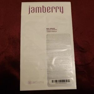 Jamberry Nail Wraps White Romance
